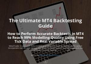 The Ultimate MT4 Backtesting Guide