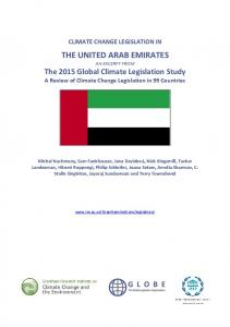 THE UNITED ARAB EMIRATES AN EXCERPT FROM