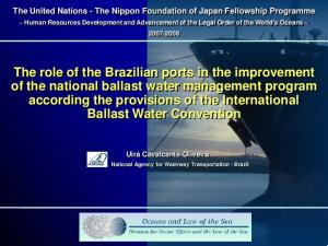 The United Nations - The Nippon Foundation of Japan Fellowship Programme