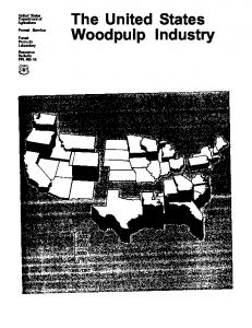 The United States Woodpulp Industry