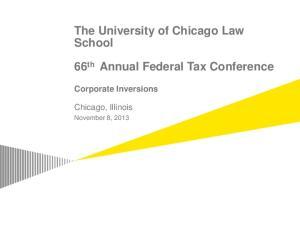 The University of Chicago Law School