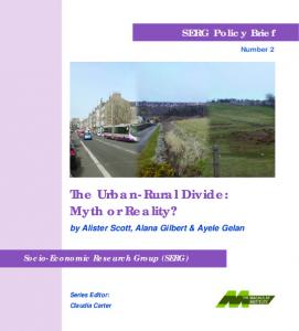 The Urban-Rural Divide: Myth or Reality?