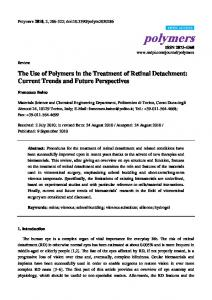 The Use of Polymers in the Treatment of Retinal Detachment: Current Trends and Future Perspectives