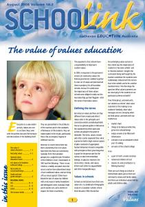 The value of values education