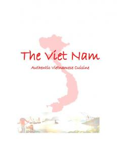 The Viet Nam. Authentic Vietnamese Cuisine