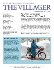 the Villager Joan Doucette Honored