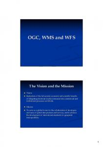 The Vision and the Mission
