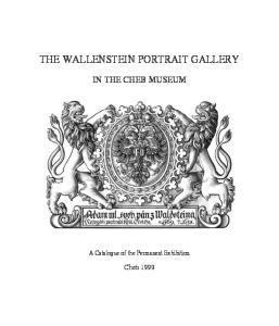 THE WALLENSTEIN PORTRAIT GALLERY