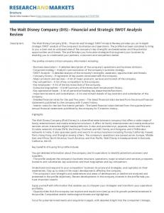 The Walt Disney Company (DIS) - Financial and Strategic SWOT Analysis Review