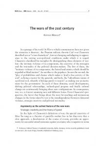 The wars of the 21st century