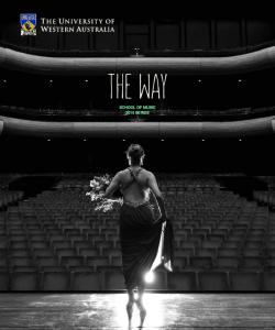 THE WAY SCHOOL OF MUSIC 2015 SERIES