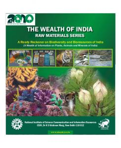 THE WEALTH OF INDIA RAW MATERIALS SERIES
