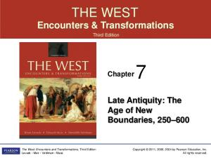 THE WEST Encounters & Transformations