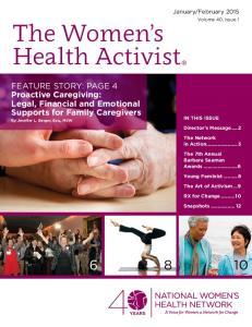 The Women s Health Activist