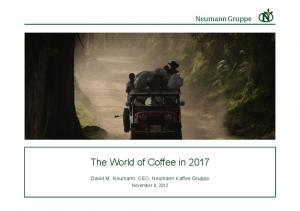The World of Coffee in 2017