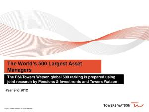 The World s 500 Largest Asset Managers