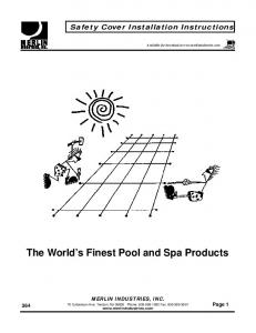The World s Finest Pool and Spa Products