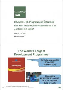 The World s Largest Development Programme *