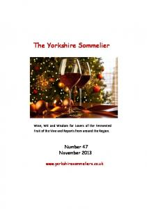 The Yorkshire Sommelier