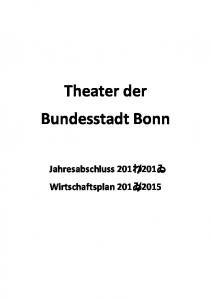 Theater der Bundesstadt Bonn