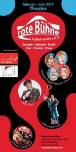 Theater. Februar Juni Comedy Kabarett Musik Tanz Theater Show
