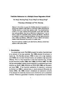 Theil-Sen Estimators in a Multiple Linear Regression Model