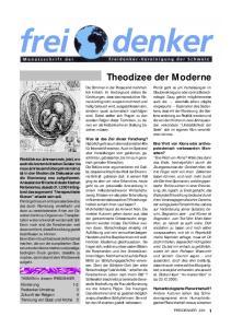 Theodizee der Moderne