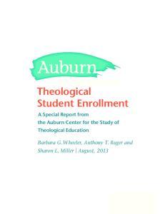 Theological Student Enrollment