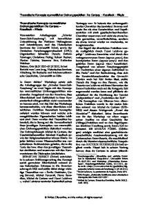 Theoretische Konzepte raumzeitlicher Ordnungspraktiken: De Certeau Koselleck Eliade