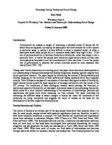 Theorising Family, Kinship and Social Change. Bren Neale