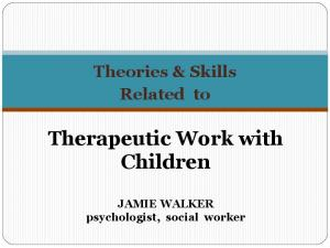 Therapeutic Work with Children
