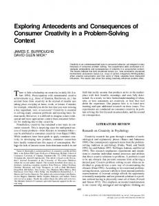 There is little scholarship on creativity in daily life (Lubart