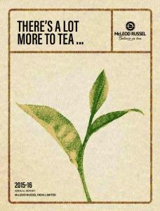 THERE S A LOT MORE TO TEA