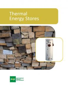 Thermal Energy Stores