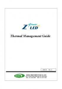 Thermal Management Guide