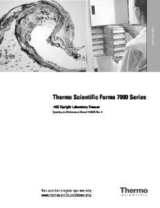 Thermo Scientific Forma 7000 Series