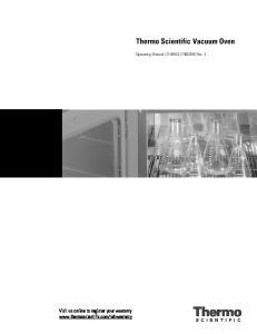Thermo Scientific Vacuum Oven