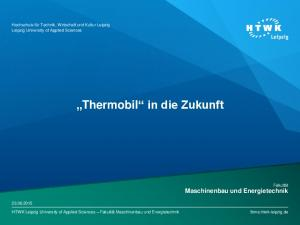 Thermobil in die Zukunft
