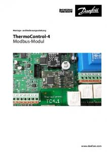 ThermoControl-4 Modbus-Modul