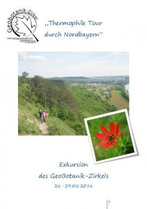 Thermophile Tour durch Nordbayern