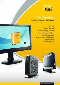 Thin Client Software & Hardware