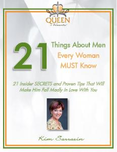 Things About Men Every Woman MUST Know