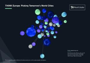 THINK Europe: Picking Tomorrow s World Cities