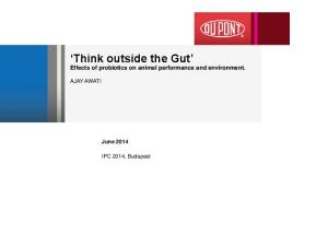 Think outside the Gut