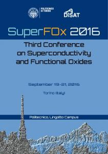 Third Conference on Superconductivity and Functional Oxides