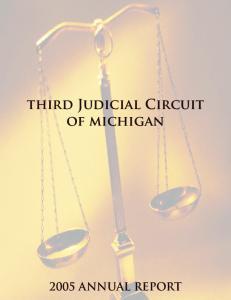 third Judicial Circuit of michigan