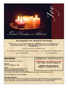 Third Sunday in Advent