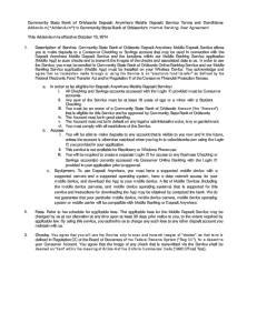 This Addendum is effective October 10, 2014