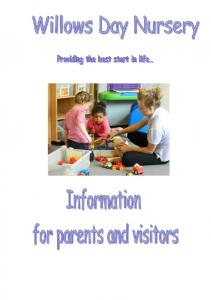 This Booklet will tell you about the Day Nursery