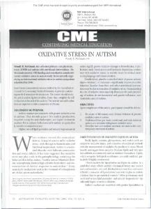 This CME article has been brought to you by an educational grant from NSF Intemational. Contents TMtMl